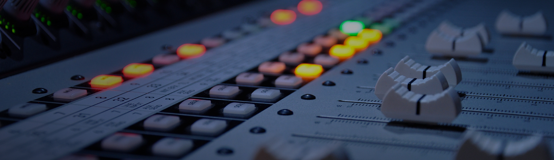 Audio broadcast quality productions.